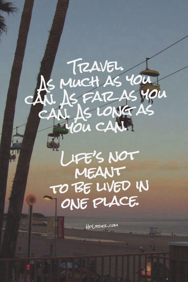 Soooo true #travel #quote