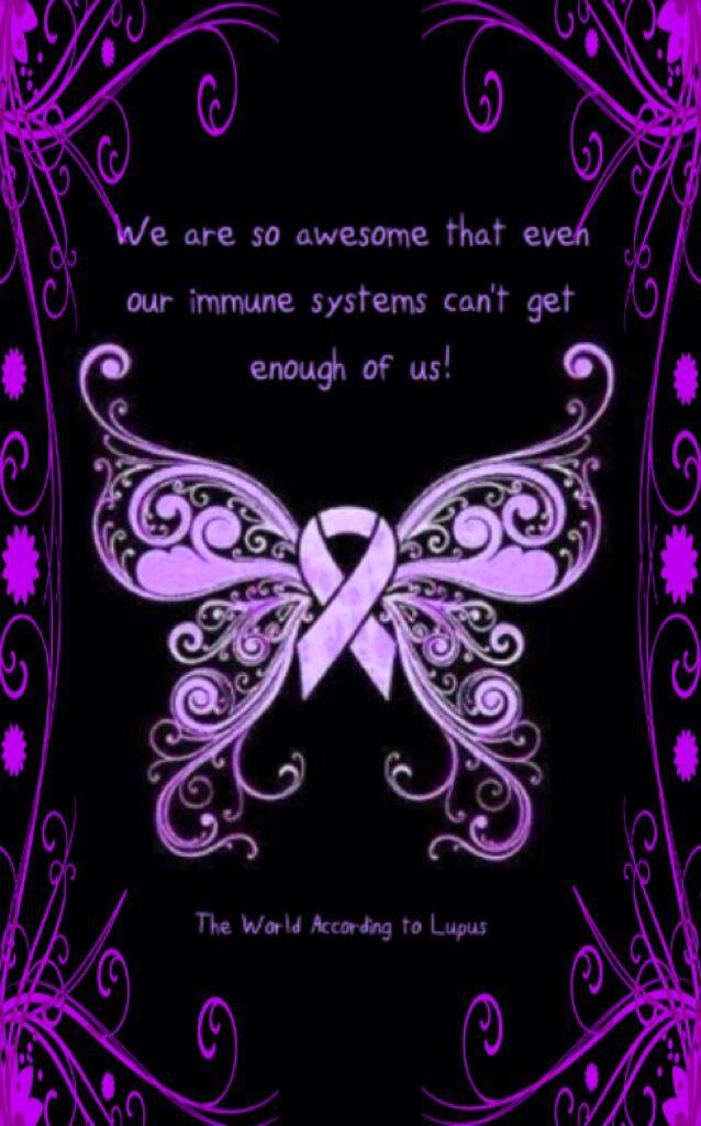 Autoimmune Disease Awareness www.facebook.com/worldaccordingtolupus