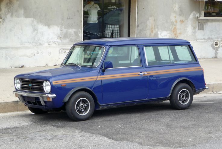 """Mini Clubman Estate - I had great fun with this one - 1380 engine and a custom 3"""" straight pipe. Noisy and quick - oh the madness of youth!"""