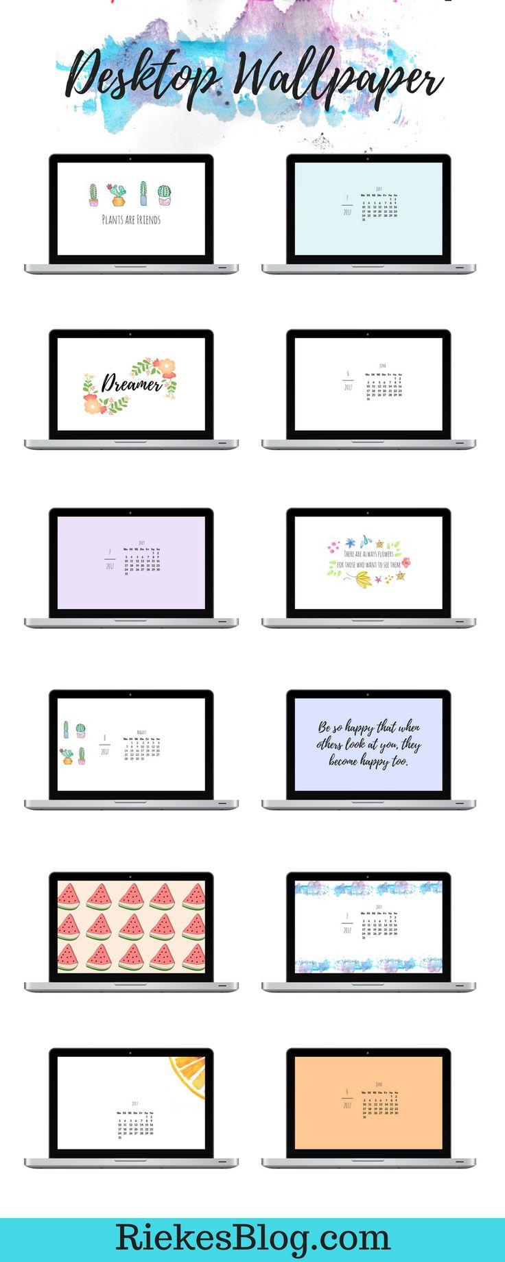 Hier findest du Desktop Hintergründe, die deinen Computer noch schöner machen. Stöbere durch die Wallpaper und lade dir deinen Favouriten auf RiekesBlog einfach herunter. Und das Beste: die Desktophintergründe werden immer aktualisiert, sodass du jeden Monat einen Neuen hast!