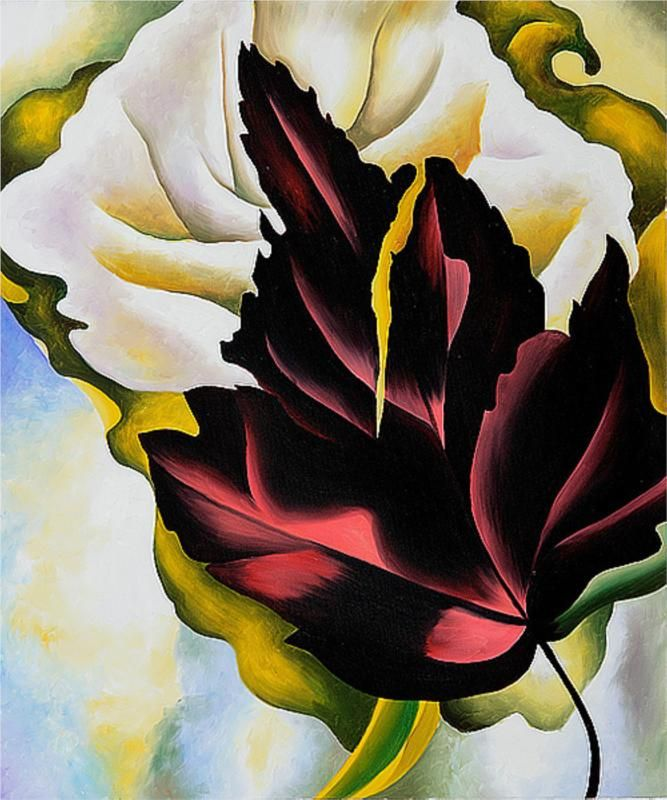 Georgia O'Keeffe - Pattern Leaves