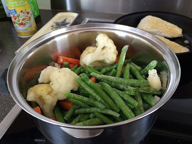 meal prep veggies