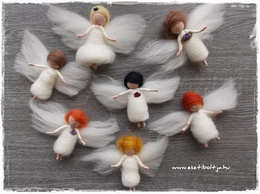 Little Angels for Christmas. 2.-EUR www.facebook.hu/esztiboltja www.st9400.meska.hu
