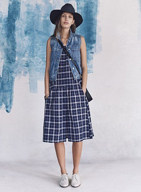 Madewell Spring '16 Is About to Give You a Denim Obsession: When I walked into Madewell's Spring '16 presentation, I wanted to change my clothes immediately, preferably into something that was hanging on one of the denim-clad mannequins.