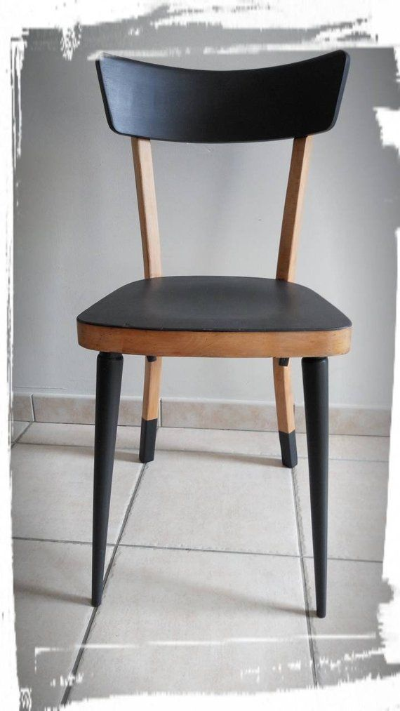 Retrouvez Cet Article Dans Ma Boutique Etsy Https Www Etsy Com Fr Listing 638083872 Chaise Bistrot Type Bau Furniture Makeover Furniture Design Furniture Diy