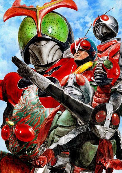 Legendary Seven Kamen Riders | 七伝説のライダー