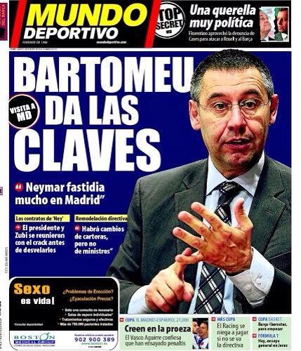 #Portada MD martes 28 de enero 2014 #FCBarcelona #Barça #Barcelona #igersFCB