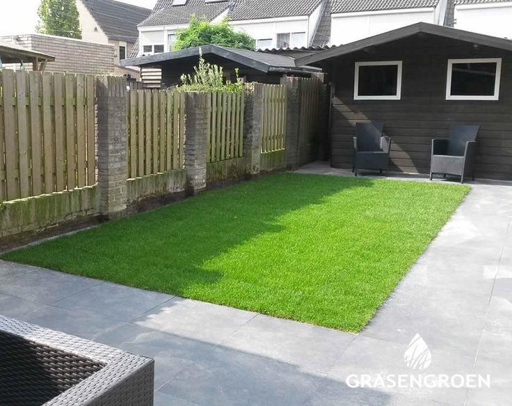 Afbeeldingsresultaat voor kleine tuin met gras ontwerpen