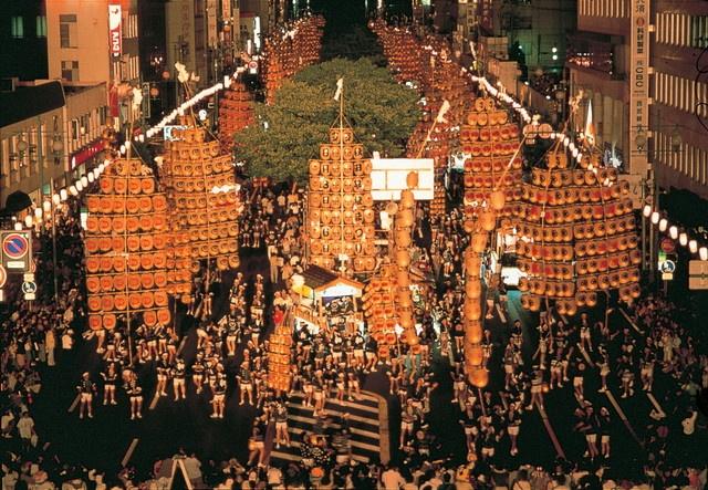 Kanto Matsuri Japanese lantern festival of good harvest