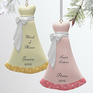 This would be a cute way to ask your friends to be your maid of honor and bridesmaids! They're the Personalized Evening Gown Dress Ornaments from PMall - you can personalize them with whatever you want ... they make a great wedding party gift, too! #Bridesmaid #MaidOfHonor #Wedding #DressBridesmaid Ornaments, 2013 Brides, Gowns Dresses, Wedding'S Bridesmaid, Evening Gowns, 9275, Ask Bridesmaid, Christmas Ornaments, Dresses Christmas