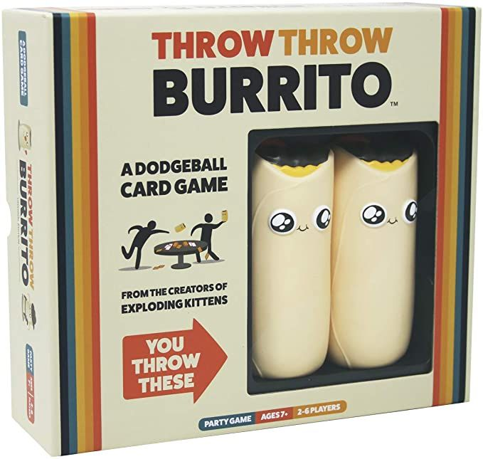 Amazon Com Throw Throw Burrito By Exploding Kittens A Dodgeball