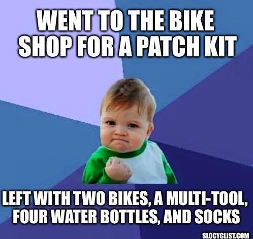 Funny Bicycling Memes | True Bike Meme | SLO Cyclist | Bike Memes Bicycles | Cycling Memes Hilarious