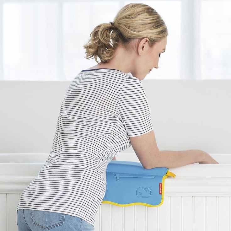 No more sore elbows! Make bathtime more comfortable and safe for mom and dad by eliminating sore elbows!