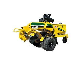 stump removal machine rental