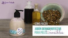 Tutorial de como hacer jabon casero liquido para manos al estilo tradicional. Cuida tu piel con jabones naturales hechos en casa.
