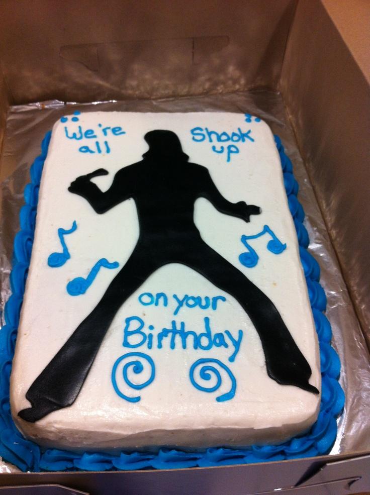 Happy Birthday Cake With Elvis