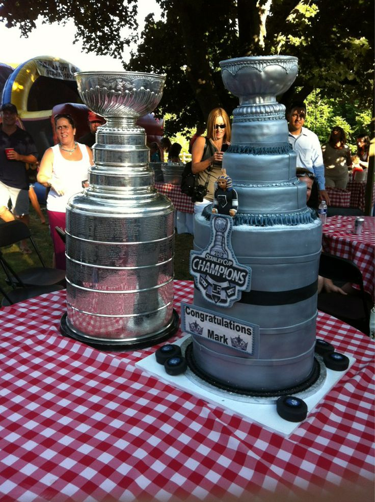 Maybe winning the Cup was a piece of cake! (M Yannetti Kings Scout in Topsfield, MA)