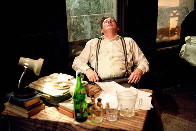 Image: Star of stage and screen, Adrian Dunbar, heads up the Brendan at the Chelsea cast