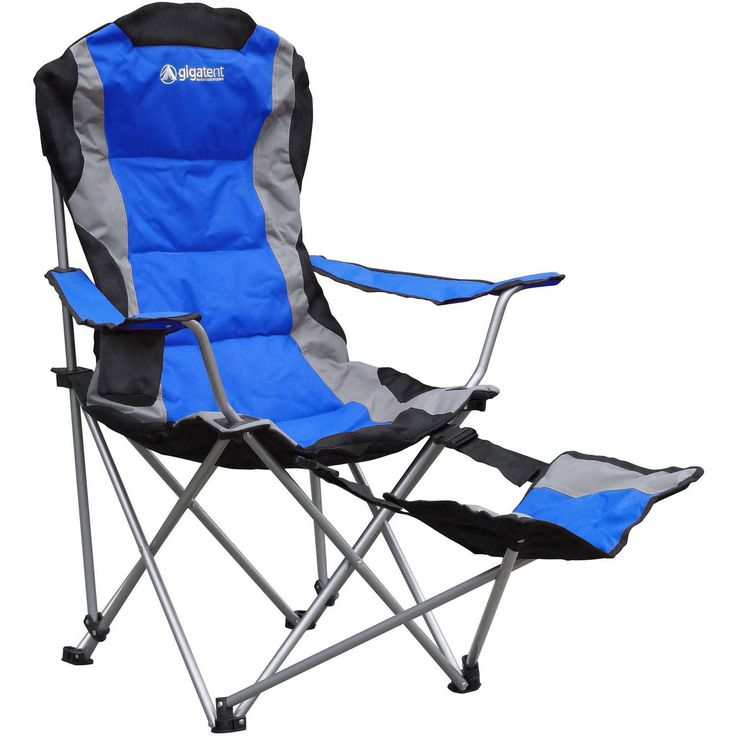 Folding Bag Chair With Footrest