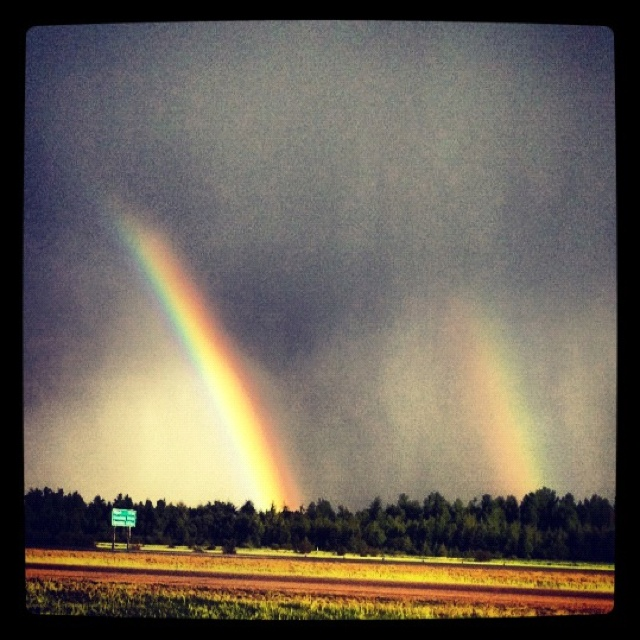 Inspirational Quotes About Positive: Quotes About Rainbows After Storm. QuotesGram