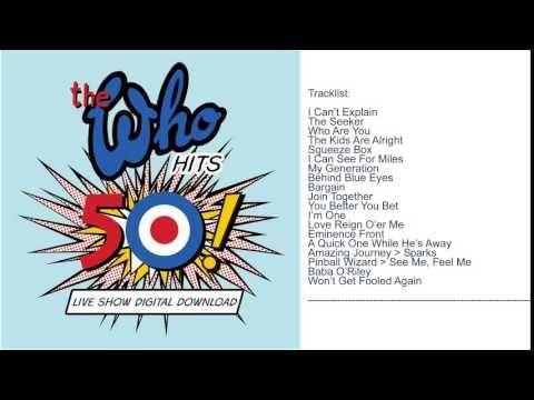 The Who - Wells Fargo Center Philadelphia || Full Album || New 2015