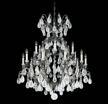 56 best brands schonbek images on pinterest schonbek lighting schonbek versailles 15 light rock crystal chandelier aloadofball Gallery