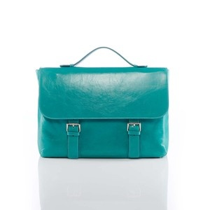 Trieste Briefcase Turquoise, 289€, now featured on Fab.