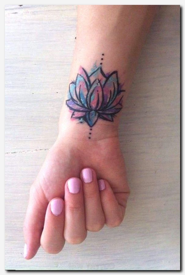 Lotus Flower Tattoo Ideas For Women With Images Wrist Tattoos For Women Flower Wrist Tattoos Tattoos For Women