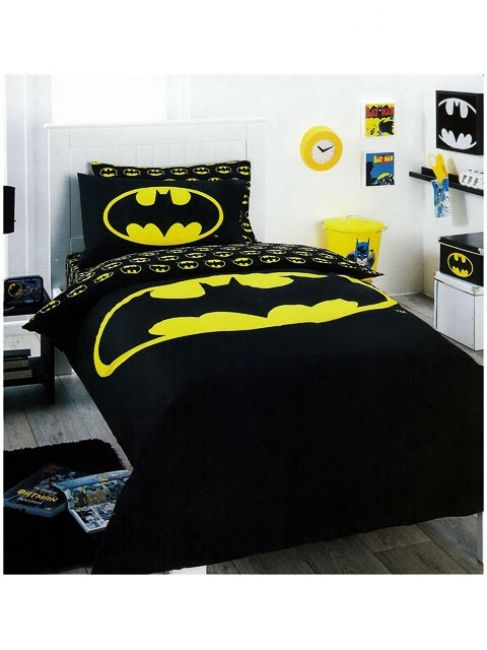 Batman Quilt Cover Set Http Www Kidsbeddingdreams Com Batman