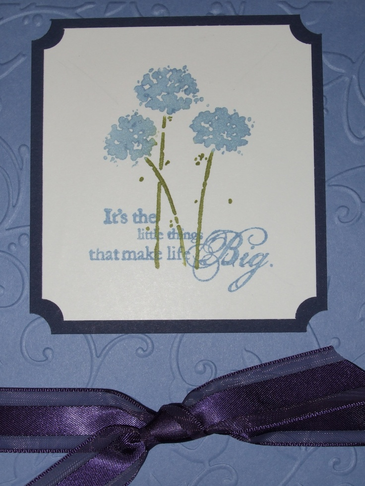 Stampin' Up! Card made with Happy Harmony stamp set