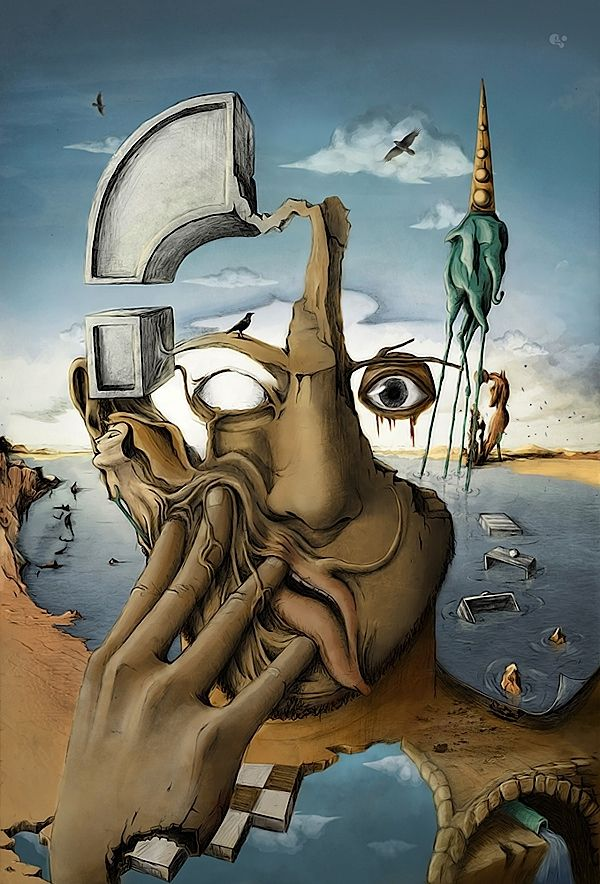 Tributo a Salvador Dali por Martin Grohs