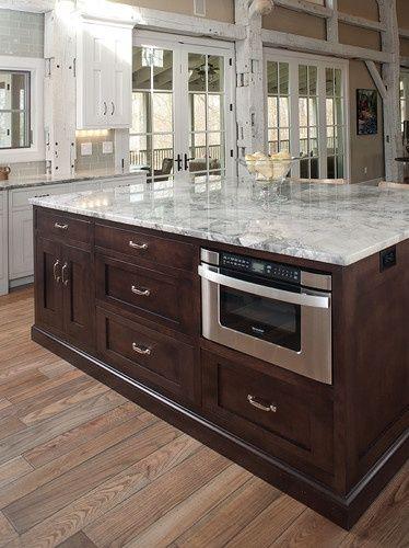rebuilt timber frame barn home kitchen mullet cabinet
