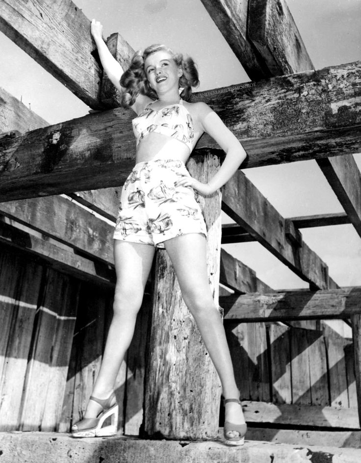 Marilyn Monroe photographed for Scudda Hoo! Scudda Hay!
