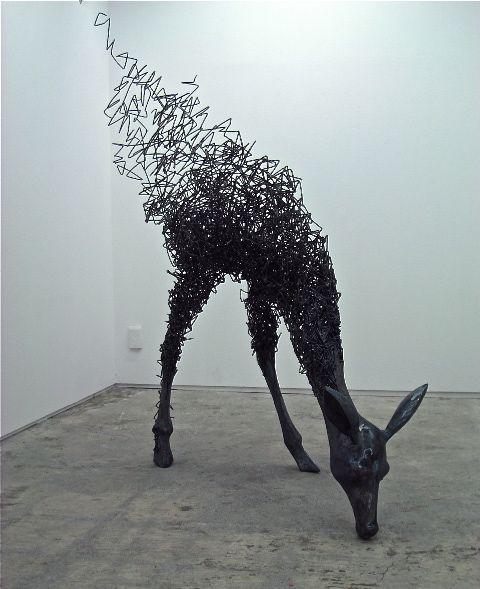 Steel Wire Sculpture – Tomohiro Inaba.