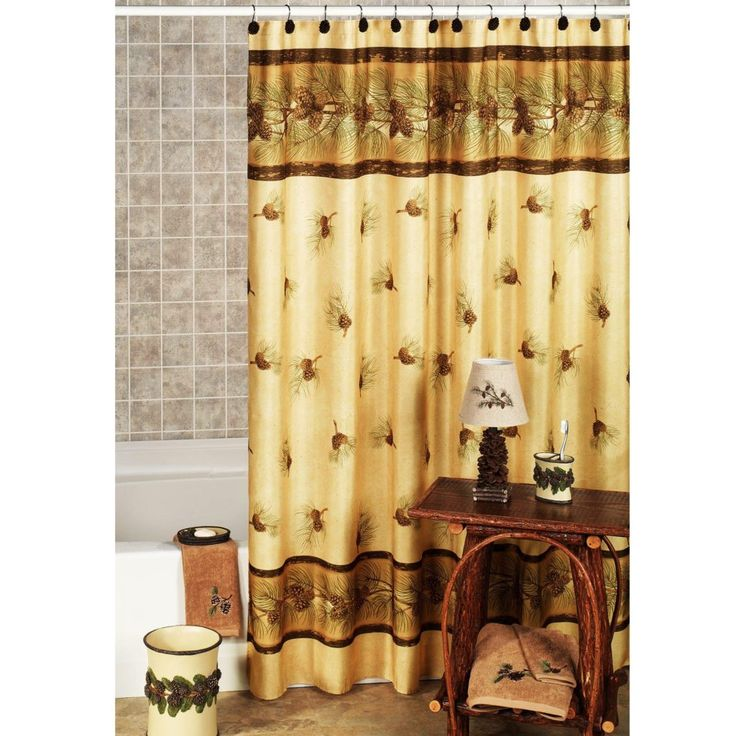 Rustic Shower Curtain Sets