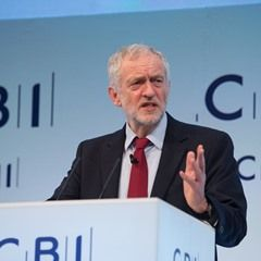 Labour Party leader Jeremy Corbyn gives keynote address at CBI Annual 2016 Conference