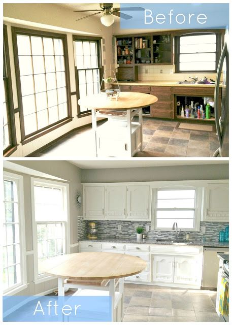 Kitchen Renovation: Before + After