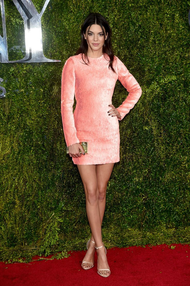Kendall Jenner in Calvin Klein bei den Tony Awards