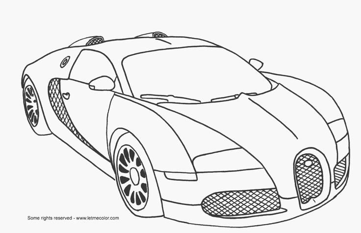 free cars cartoon coloring pages | fast car coloring pages | fast-car-coloring-page ...