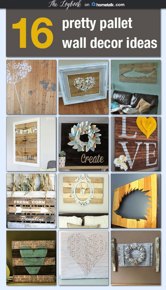 16 great pallet art ideas for your home check them out for Great pallet ideas