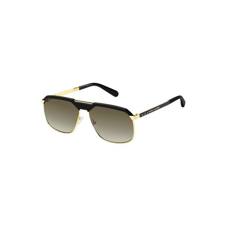 Gafas de sol MARC JACOBS 625S Black Gold Aviator - Envío Gratis