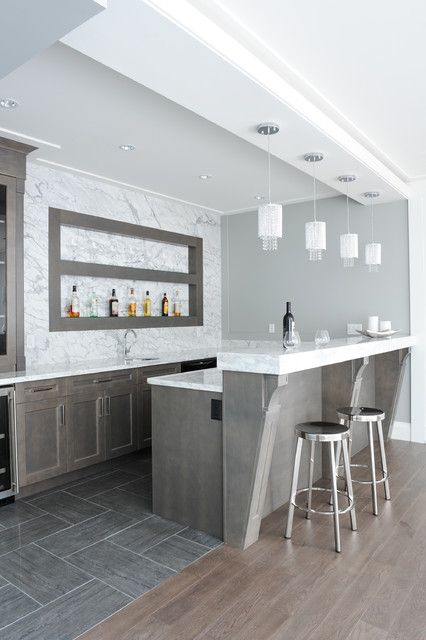 19 Fancy Home Bar Designs For All Fans of the Modern Living MINI