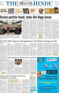 Epaper : Read Indian English and Hindi Newspaper online free