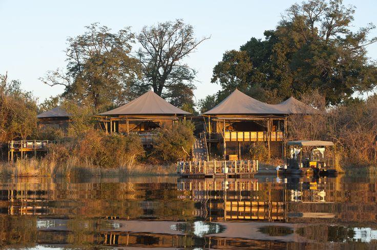 Photographic safari, team building photo safari and wildlife photography course accommodation Duma Tau Camp, Okavango Delta, Botswana