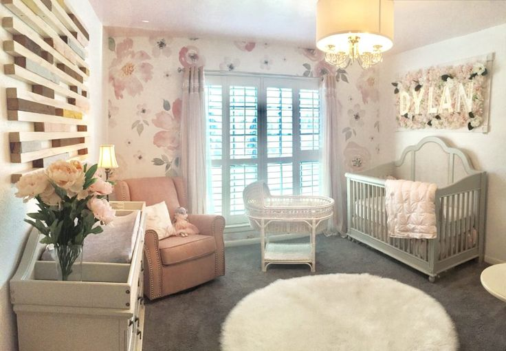 "Ethereal means ""light, airy, almost too perfect for this world"", and I used these words and the definition to guide my design for this Ethereal Nursery."