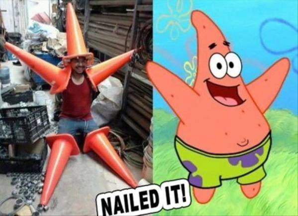 "Winner of The Costume ""Sprint"""