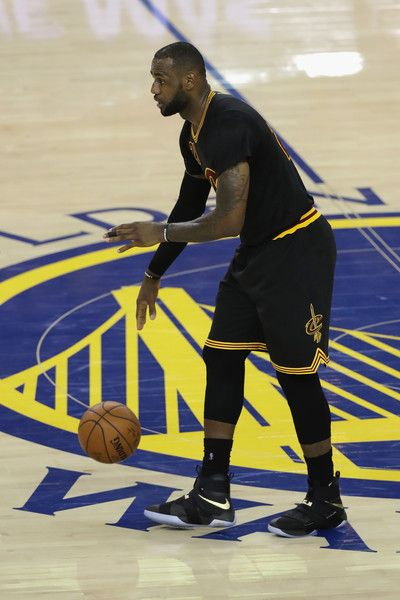 LeBron James Photos - LeBron James #23 of the Cleveland Cavaliers handles the ball during the second half against the Golden State Warriors in Game 5 of the 2016 NBA Finals at ORACLE Arena on June 13, 2016 in Oakland, California. NOTE TO USER: User expressly acknowledges and agrees that, by downloading and or using this photograph, User is consenting to the terms and conditions of the Getty Images License Agreement. - 2016 NBA Finals - Game Five