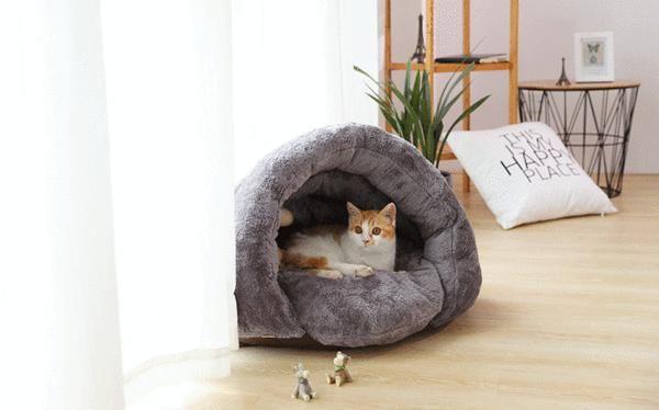 Snuggle Me Sleeping Bag Pets Pet Cushions Cat Bed