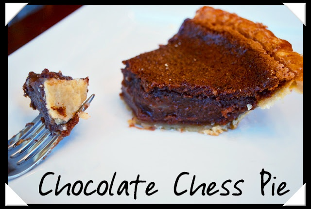 Chocolate Chess Pie. My Mom was the master! Now my Dad carries on the ...