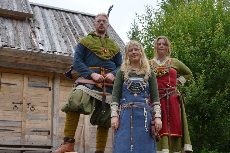 Vikings, Johan Wrisemo, Kim Engstrand Lund, Hanna Olsson. Berghem, Sweden